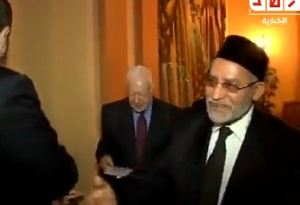 Jimmy Carter bersama Morsi 3