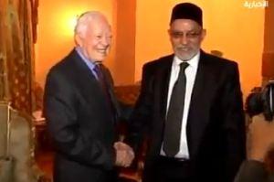 Jimmy Carter bersama Morsi 5