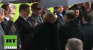 Morsi dan Angela Merkel 6