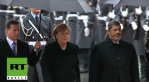 Morsi dan Angela Merkel 7