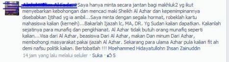 Status Mahasiswa Al Azhar