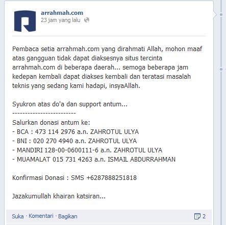arrahmah FP