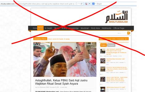 Website Berkedok Islam Penebar Fitnah Terdepan