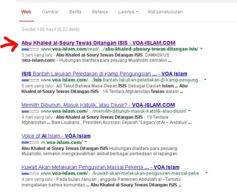 berita voa-islam yang dihapus , ada di google