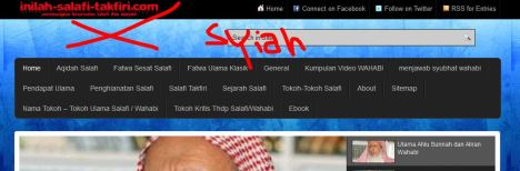 website syi'ah, bukan Aswaja,