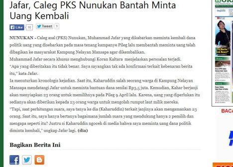 caleg pks mohammad jafar part 1