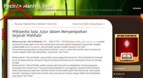 blog wahhabi