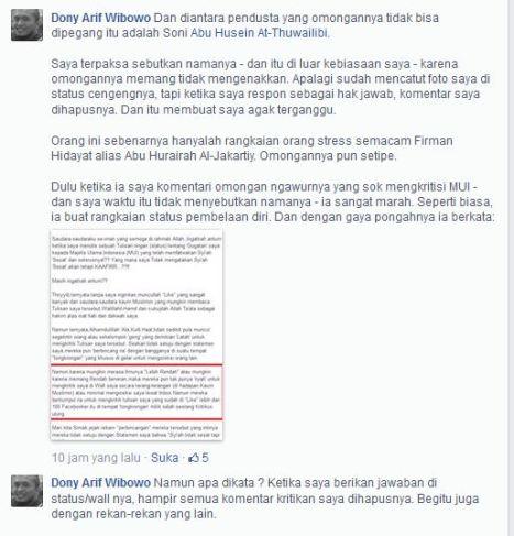 Dony Arif Wibowo part 1