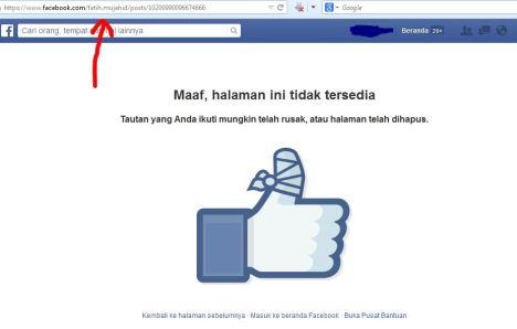 Akun Facebook Fatih Mujahid Ditutup