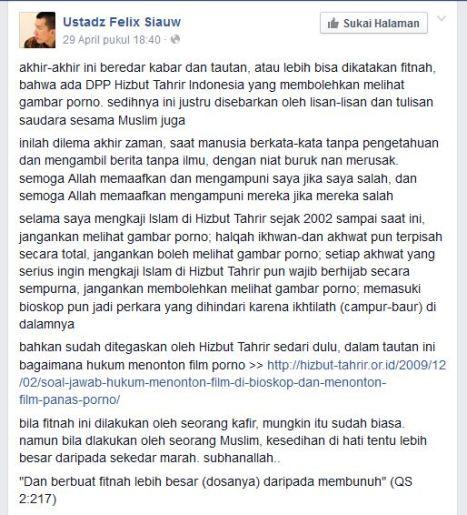 Felix Siauw Fanpage part 1