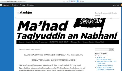 Syamsuddin Ramadhan akui tulisannya part 1