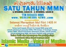 MUSLIMEDIA NEWS DOT COM HARLAH PERTAMA