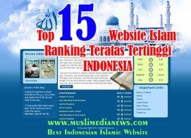 Top 15 Website Islam Ranking Tertinggi