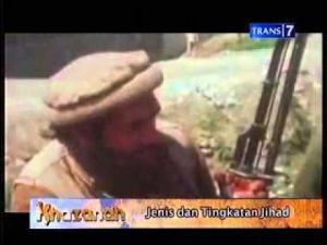 Di Khazanah Trans7 kelompok seperti Taliban itu Mujahidin.