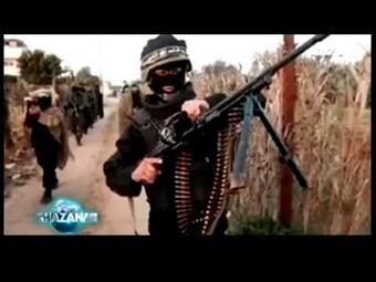 Militan seperti Jabhat Nusra (Al Qaeda) & Taliban di Acara Khazanah Trans7 disebut pasukan panji hitam akhir zaman.