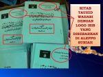 Bukti Fisik ISIS berpaham Wahhabi