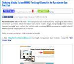 Cara Post Otomatis Artikel dari Website Islam ke Facebook dan Twitter
