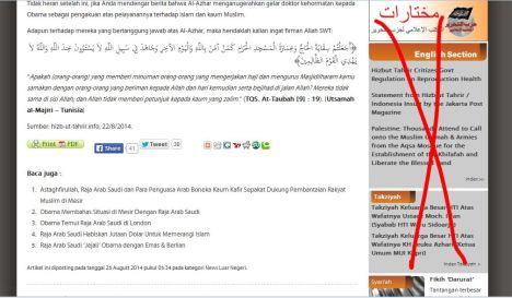 Fitnah HTI terhadap Al Azhar 3