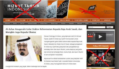 Fitnah HTI terhadap Al Azhar