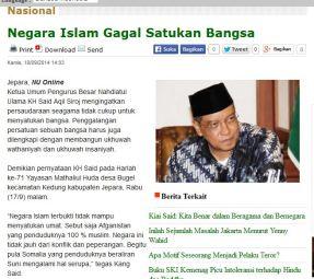 Negara Islam Gagal