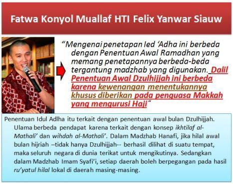 Fatwa Konyol Felix Siauw