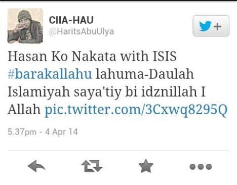 Harits Abu Ulya tentang Hassan Ko Nakata