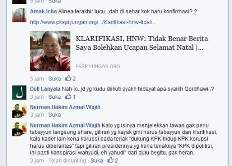 Nur Wahid Sebut PKS Piyungan Syiarkan Kebohongan, Lucunya PKS Piyungan ...