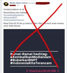Tutup Media Islam Radikal